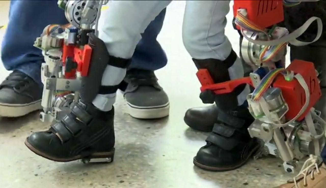 Frame 53.510361 de: Crean el primer exoesqueleto del mundo dirigido a niños con atrofia muscular espinal