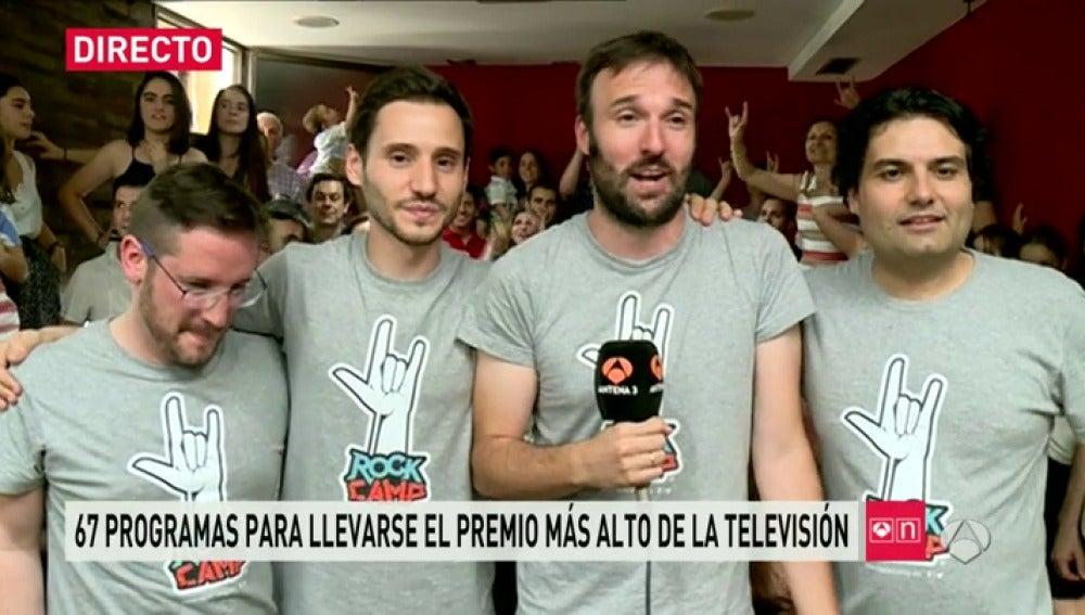 """Frame 33.564041 de: Rockcampers: """"Nunca olvidaremos la pregunta de Himar González"""""""