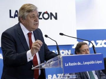 El padre de Leopoldo López y su esposa