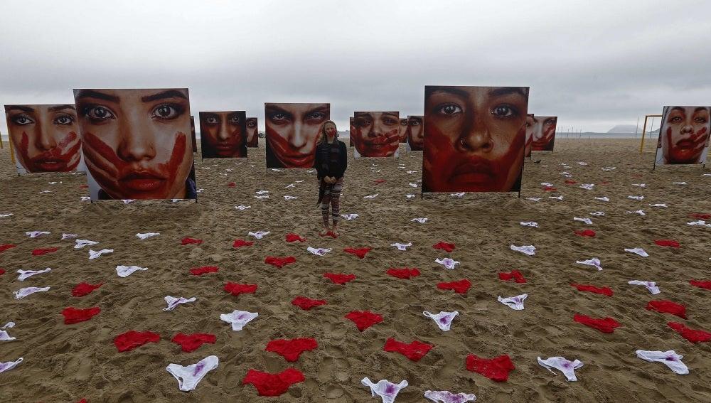 Expanden bragas en la playa de Copacabana