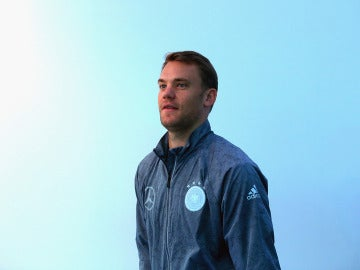 Manuer Neuer con la selección de Alemania