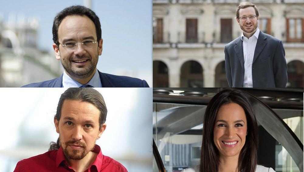 Hernando, Maroto, Iglesias y Villacís