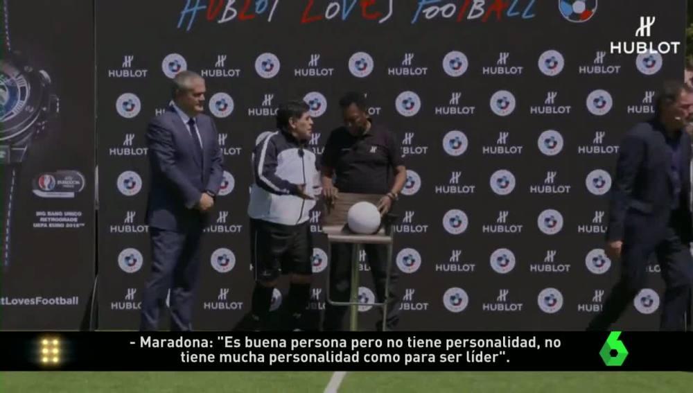 Maradona, 'cazado'