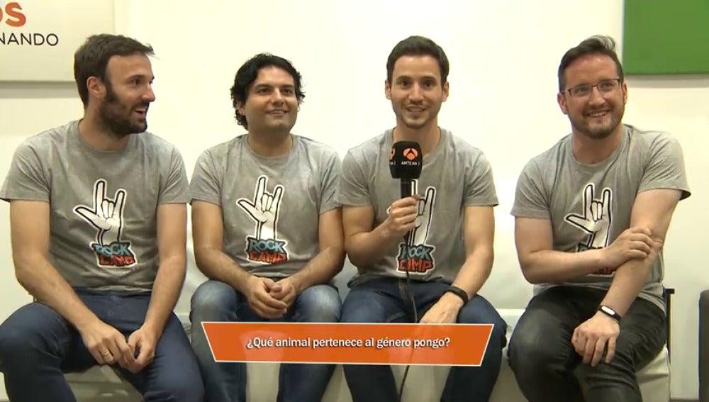 Frame 4.33332 de: Los 'Rockcampers' prueban suerte con las preguntas que les dejaron a una bomba del premio final