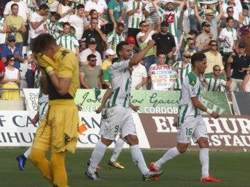 El Córdoba se impone 2-1 al Girona