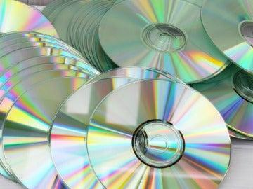 Imagen de varios CDs