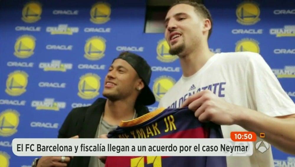 Frame 12.59156 de: El Barcelona llega a un acuerdo con Fiscalía por el 'caso Neymar'