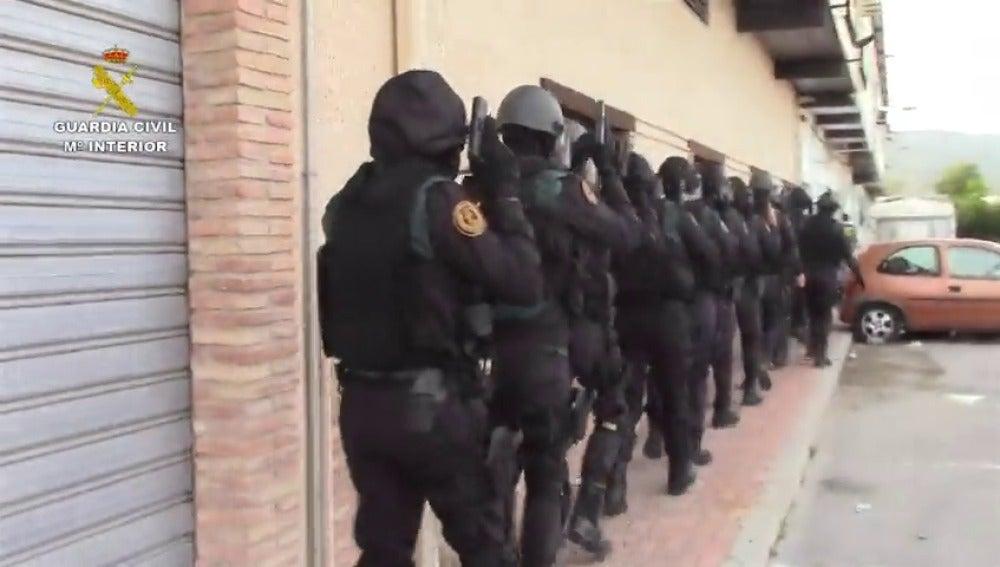 Frame 1.614253 de: Desmantelada una red que introducía droga en la cárcel Murcia II