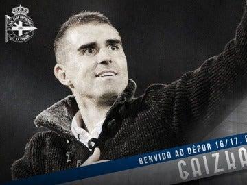 Gaizka Garitano, nuevo entrenador del Deportivo de la Coruña