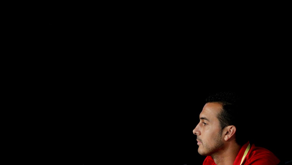 Pedro Rodríguez, en rueda de prensa