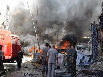 Daesh controlando la zona sur de Damasco