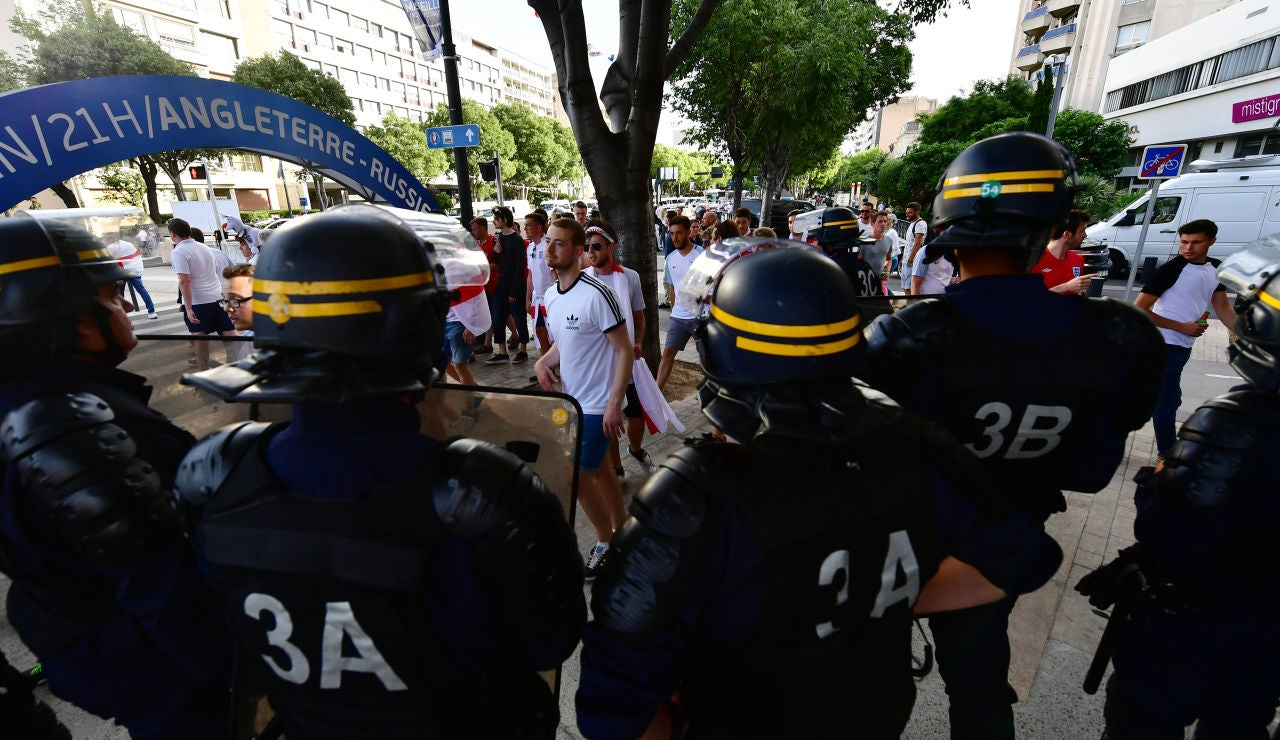 Agentes de seguridad, en Marsella