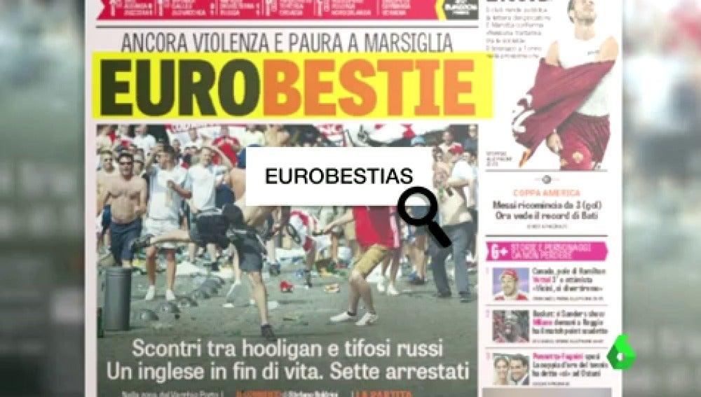 Las portadas de los medios tras los disturbios de Marsella