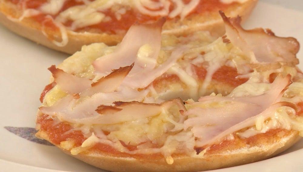 Los pizza bagels que os salvarán la vida.