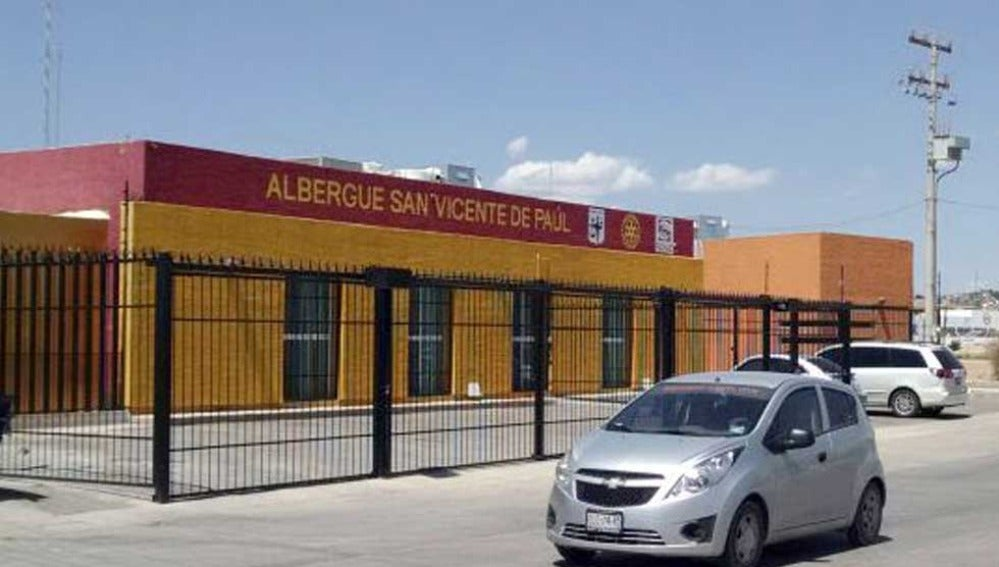 Albergue de 'San Vicente de Paul', (México).
