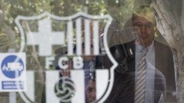 Bartomeu, en las oficinas del FC Barcelona