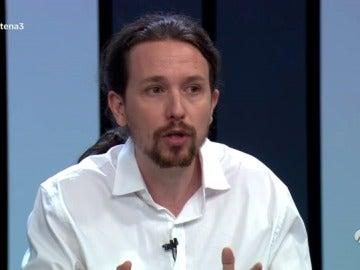 """Frame 160.966634 de: Iglesias: """"O sigue gobernando Rajoy o el PSOE y nosotros nos ponemos de acuerdo"""""""