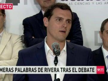 """Frame 6.040642 de: Rivera: """"Hay que convencer al PP y al PSOE para que se regeneren"""""""
