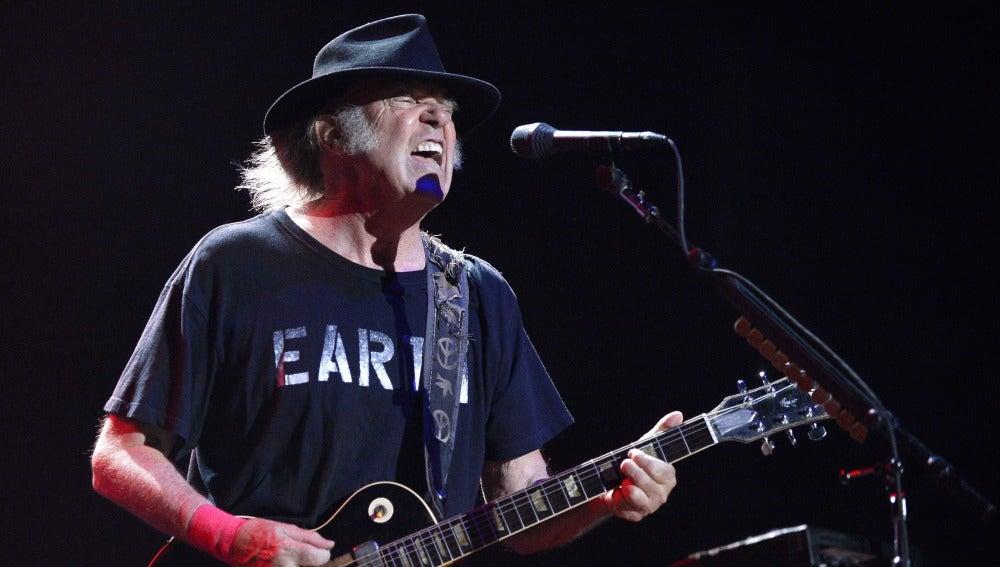 Neil Young en el Mad Cool