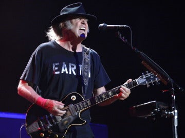 Neil Young en el Mad Cool