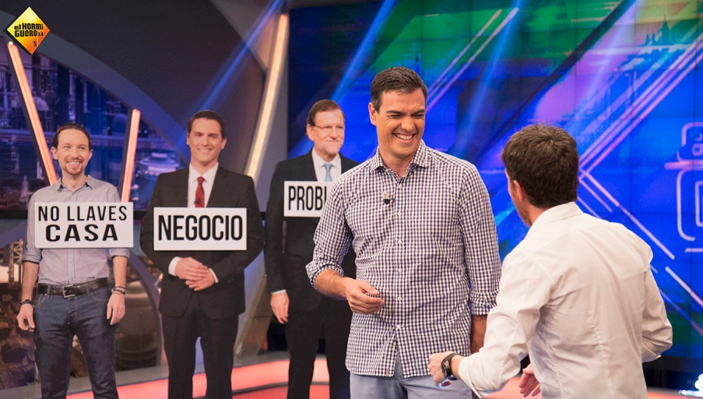 ¿A quién no dejaría Pedro Sánchez nunca las llaves de su casa: a Pablo Iglesias o a Susana Diáz?