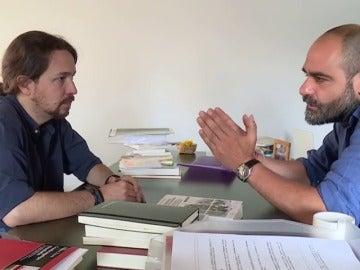 Frame 35.854581 de: Pablo Iglesias: apenas tiempo para el cine en una campaña intensa y estudiada