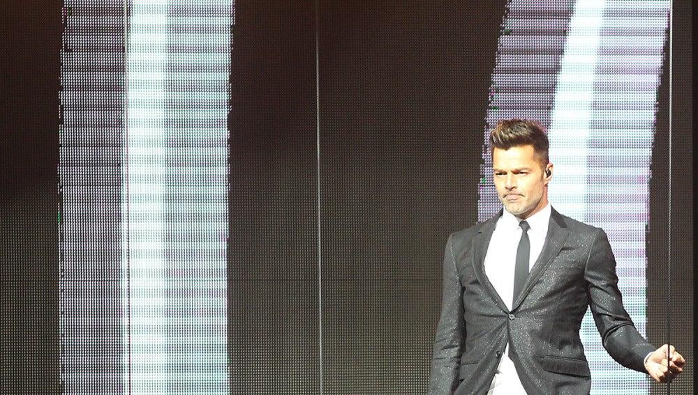 Ricky Martin en concierto