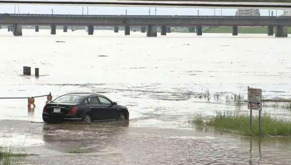 Frame 10.061724 de: Las lluvias torrenciales en el suroeste de Japón dejan al menos 4 muertos