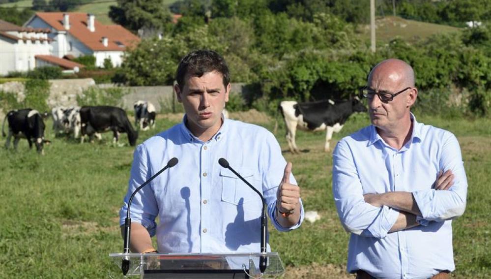 El presidente de Ciudadanos y candidato a la presidencia del Gobierno, Albert Rivera