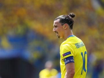 Zlatan Ibrahimovic ante la selección de Italia en la Eurocopa