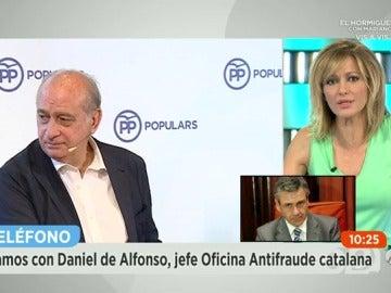 """Frame 285.244692 de: El jefe de la Oficina Antifraude sospecha que """"había un micrófono"""" en el despacho de Fernández Díaz por la """"nitidez"""" de sonido"""