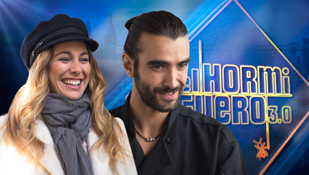 Blanca Suárez y Aitor Luna en 'El Hormiguero 3.0'