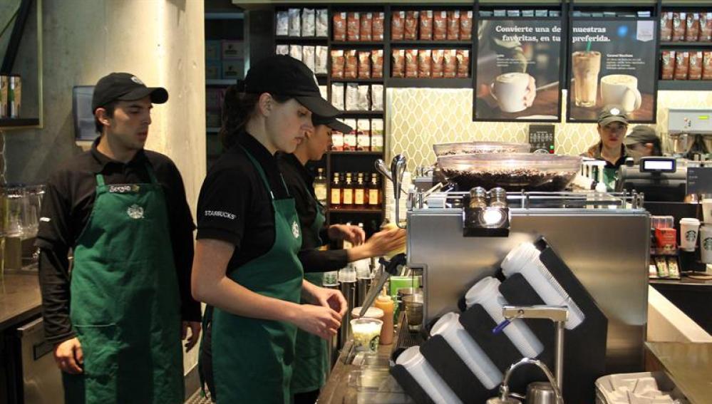 Una de las cafeterías de la cadena