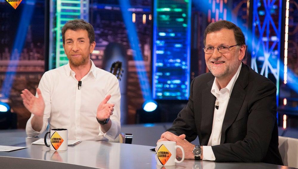 """Mariano Rajoy, sobre las grabaciones a Fernández Díaz: """"Yo estoy muy tranquilo y veo al ministro también muy tranquilo"""""""