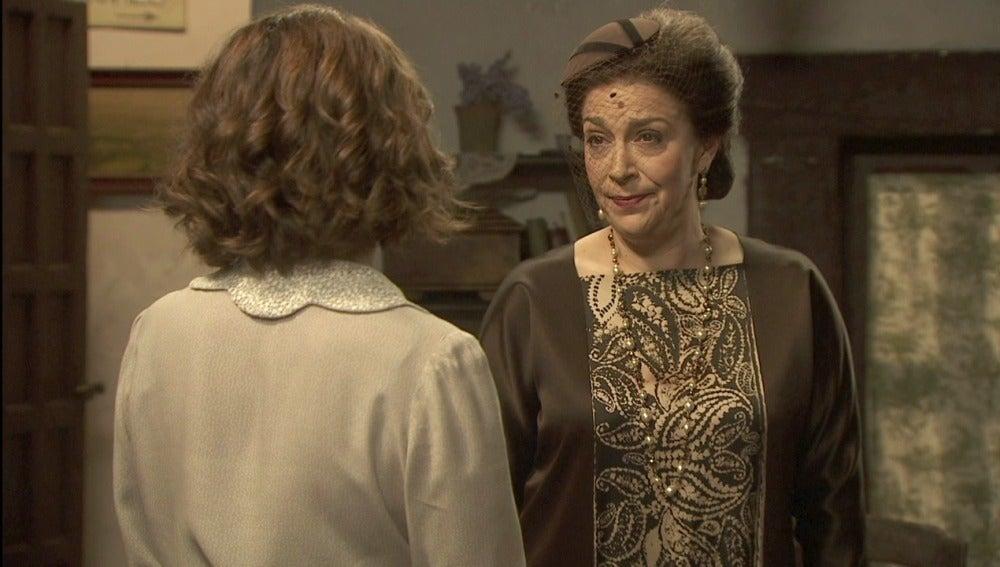 Francisca tiene un asunto pendiente con Cristóbal