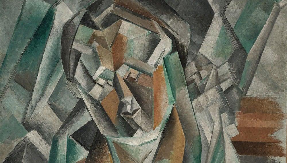 'Mujer sentada' de Picasso