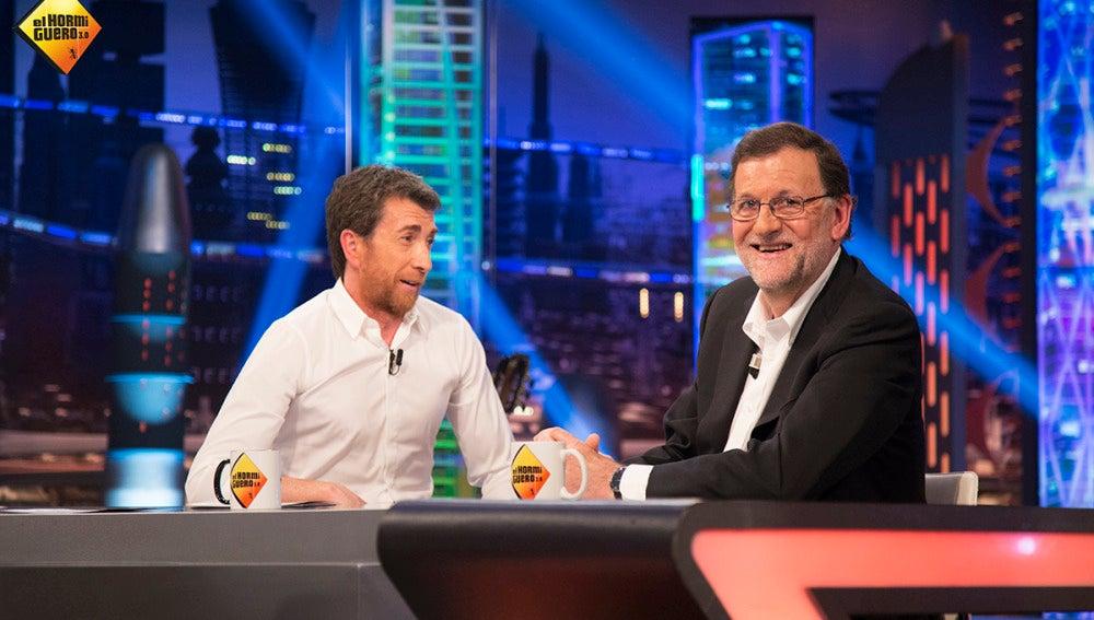 """Pablo Motos a Mariano Rajoy: """"¿Cuánto cobra un presidente del Gobierno en España?"""""""