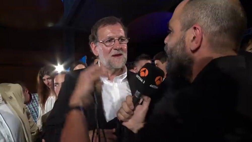 """Frame 42.667686 de: Rajoy """"Detrás de la campaña"""""""