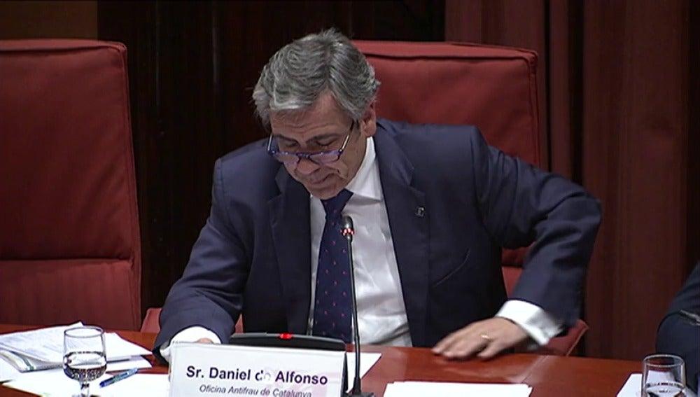 Frame 0.0 de: Daniel de Alfonso asegura que no existe delito en sus conversaciones con el ministro y que seguirá en su cargo