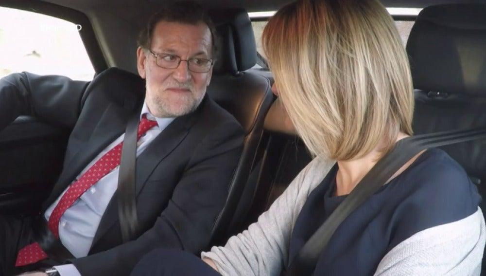 """Frame 38.078028 de: Mariano Rajoy: """"Ahora tampoco puedo ahorrar mucho"""""""