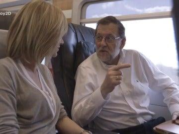 """Frame 27.516126 de: Mariano Rajoy le envía un mensaje a Albert Rivera: """"Creo que se equivoca, pero tiene tiempo de rectificar"""""""