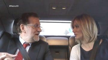 """Frame 56.775364 de: Rajoy, sobre Aznar: """"No nos vemos mucho, pero hay una relación buena"""""""