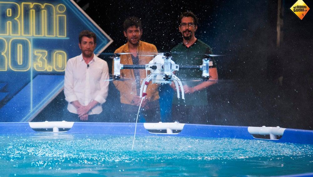 Así es el primer dron submarino