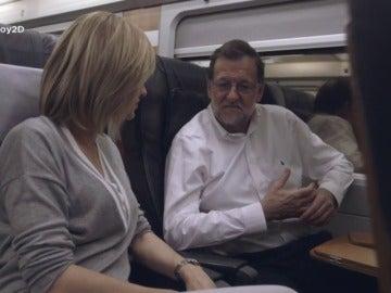 """Frame 35.71245 de: Mariano Rajoy, sobre Pedro Sánchez: """"Por lo menos le pone empeño"""""""