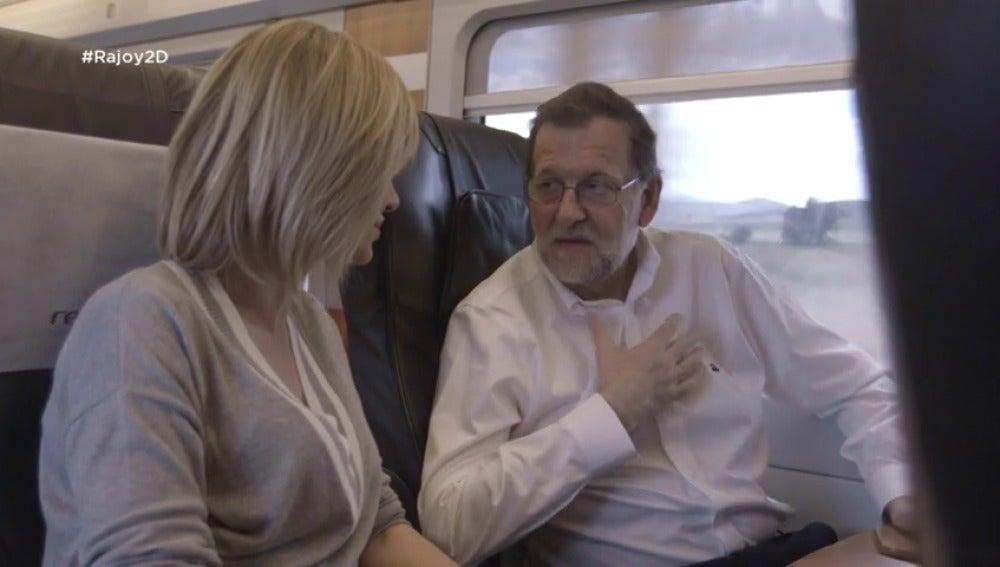 """Frame 45.46387 de: Mariano Rajoy se compara con el resto de candidatos: """"Yo tengo menos ego"""""""