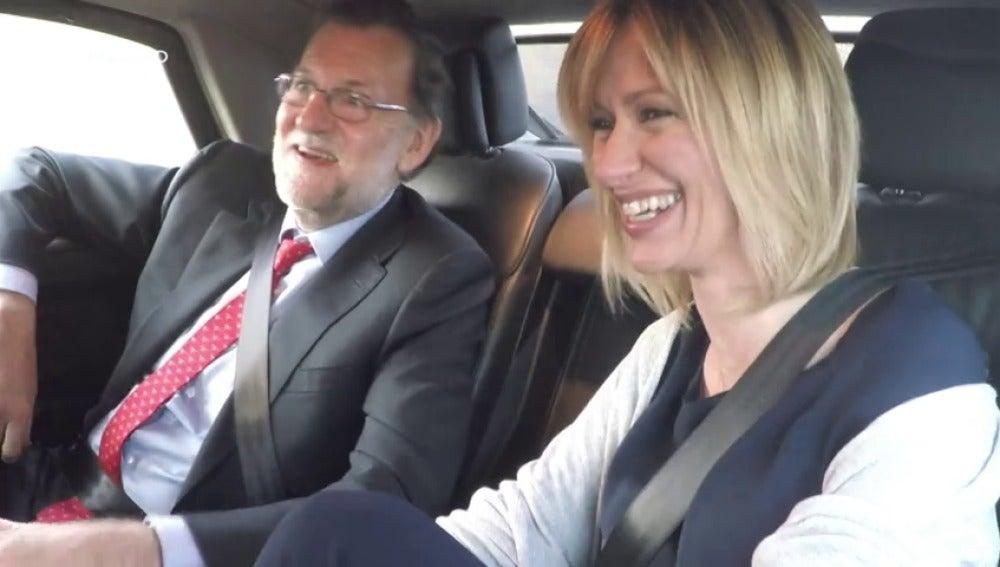 Frame 26.05625 de: El lapsus de Mariano Rajoy que hizo reír a Susanna Griso