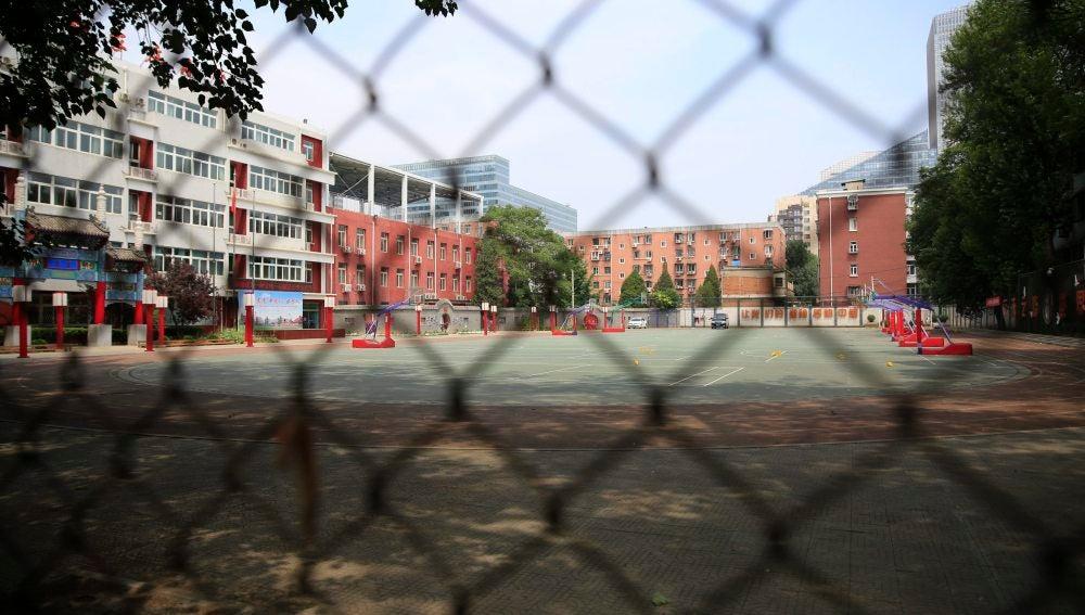 Patio de un colegio de primaria
