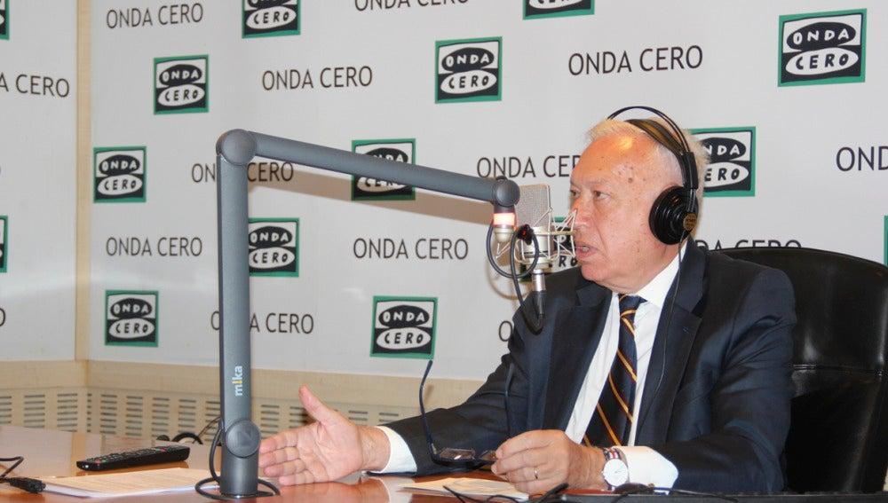 José Manuel García-Margallo en Onda Cero