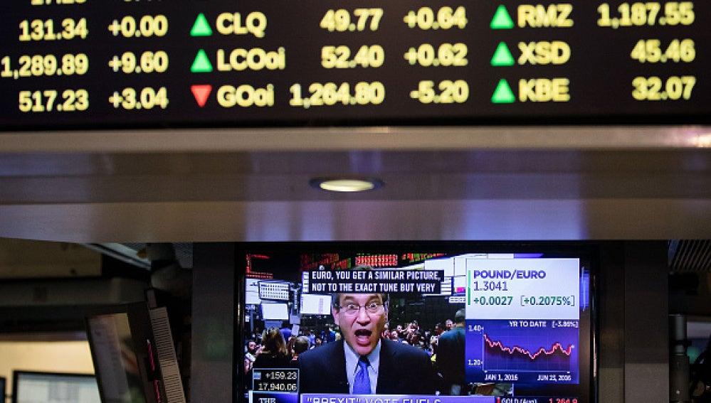 Caos en los mercados tras el 'brexit'