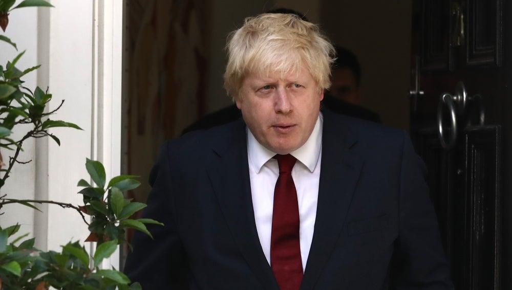 El exalcalde de Londres, Boris Johnson